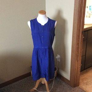 Beautiful Royal Blue Dress by J. Crew
